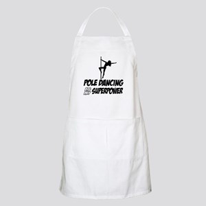 pole dancing is my superpower Apron