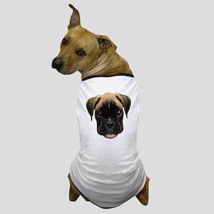 Boxer Face 001 Dog T-Shirt