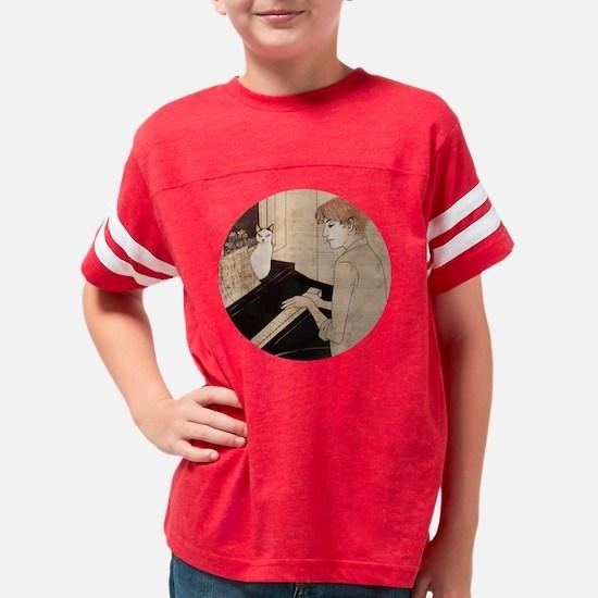 piano_button Youth Football Shirt