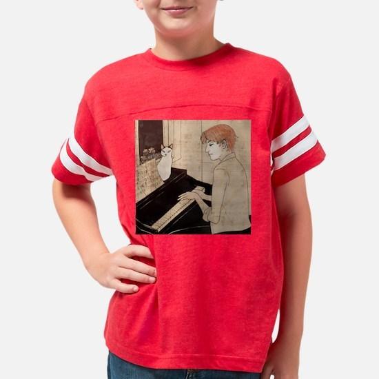 piano_tile Youth Football Shirt