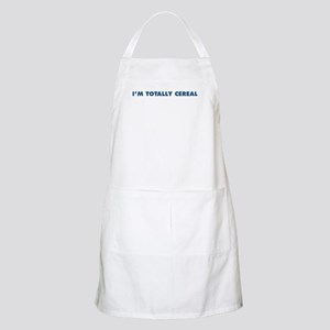 """The """"I'm Totally Cereal"""" Line BBQ Apron"""