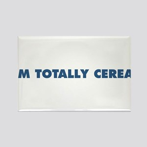"""The """"I'm Totally Cereal"""" Line Rectangle Magnet (10"""