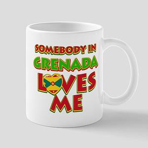 Somebody in Grenada Loves me Mug
