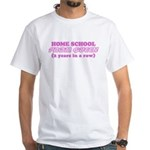 Home School Prom Queen Funny White T-Shirt