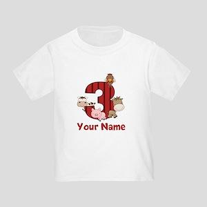 3rd Birthday Farm T-Shirt