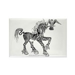 Invitation to the Unicorn Rectangle Magnet (10 pac