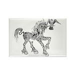 Invitation to the Unicorn Rectangle Magnet (100 pa