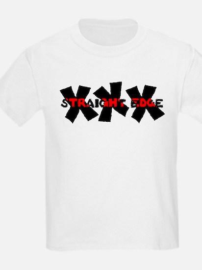 XXX Straight Edge Kids T-Shirt