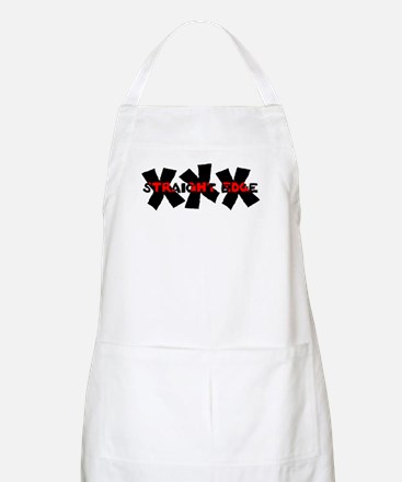 XXX Straight Edge BBQ Apron