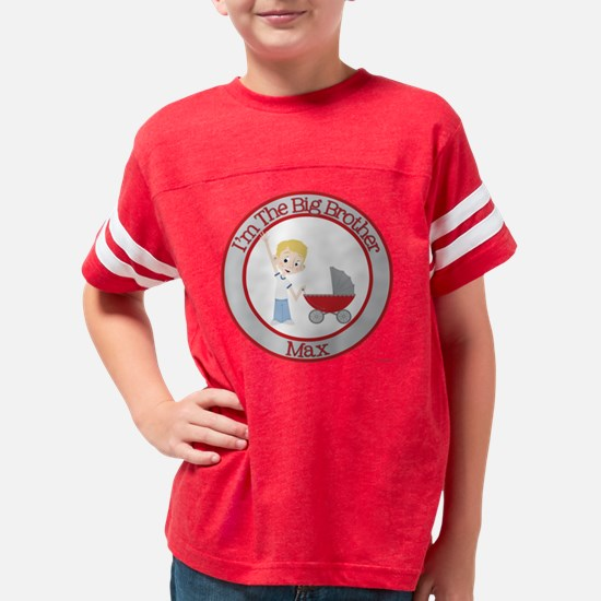 big-brother-red-stroller_blon Youth Football Shirt
