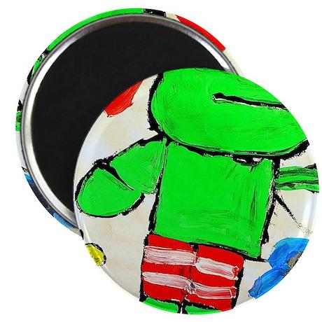 Mr. Kikker, the Frog Magnet