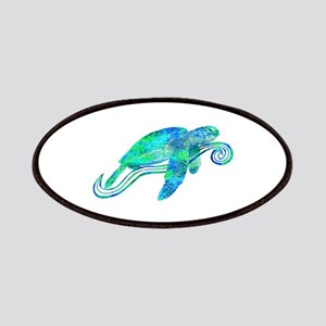 Sea Turtle Graphic Patches