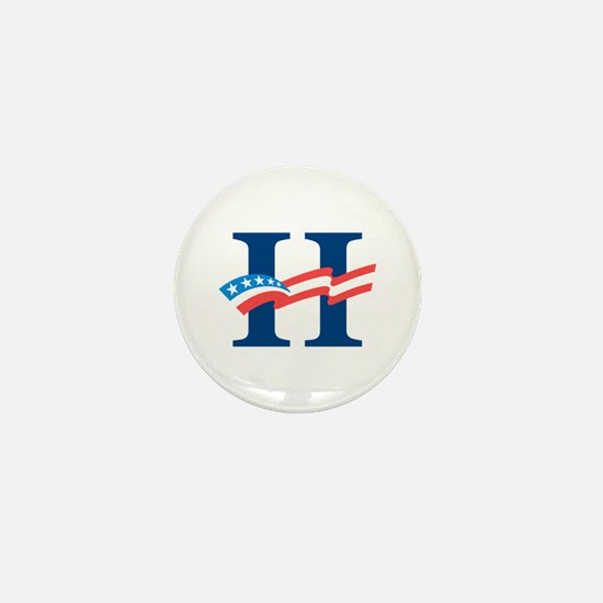 Hillary Mini Button