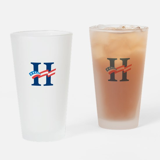 Hillary Drinking Glass