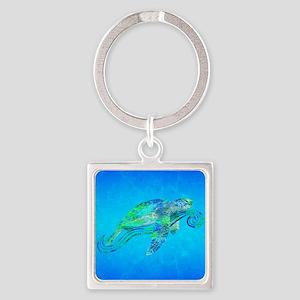 Sea Turtle Wave Keychains