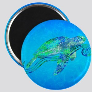 Sea Turtle Wave Magnets