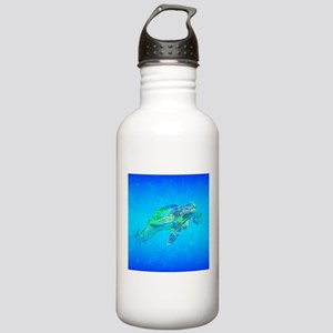 Sea Turtle Wave Water Bottle