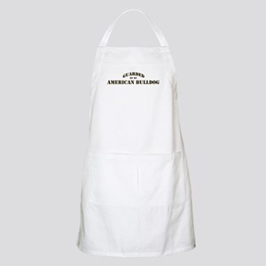 American Bulldog: Guarded by BBQ Apron