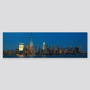 Night Lights! New York City Pro photo Bumper Stick