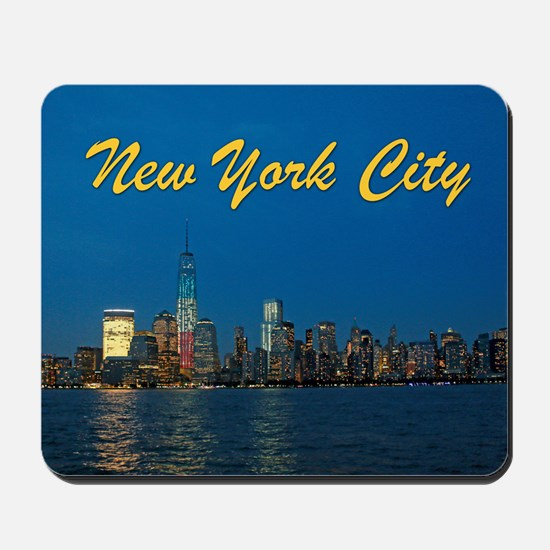 Night Lights! New York City Pro photo Mousepad