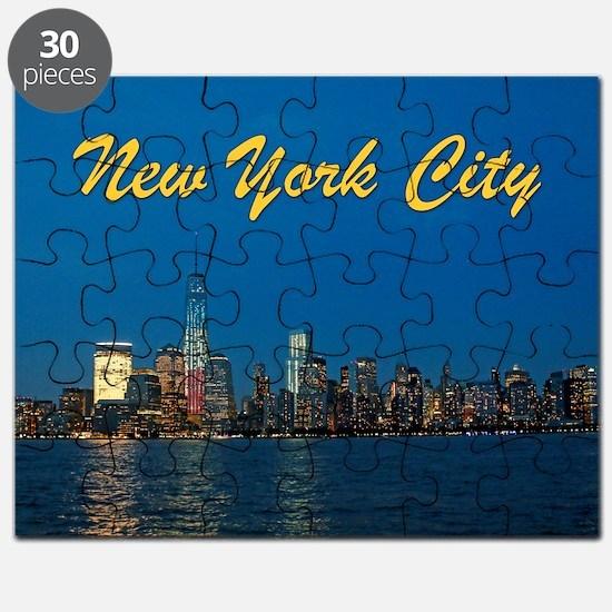 Night Lights! New York City Pro photo Puzzle