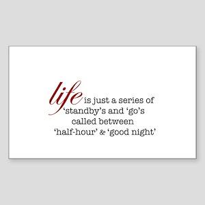 Theatre Life Sticker