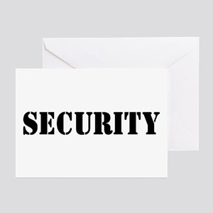 SECURITY Greeting Cards (Pk of 10)