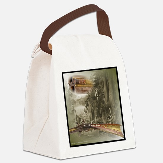 Old Kentucky Flintlock Canvas Lunch Bag