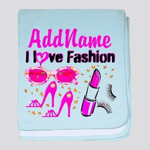 LOVE FASHION baby blanket
