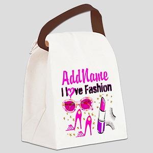LOVE FASHION Canvas Lunch Bag