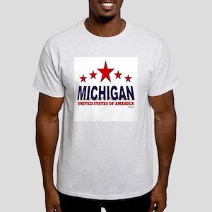 Michigan U.S.A. Light T-Shirt