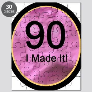 90 ... I Made It! Puzzle