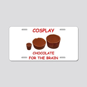 cosplay Aluminum License Plate