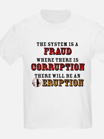 CORRUPTION Kids T-Shirt