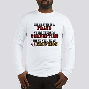 CORRUPTION Long Sleeve T-Shirt