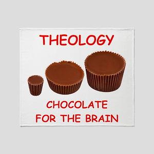 theology Throw Blanket