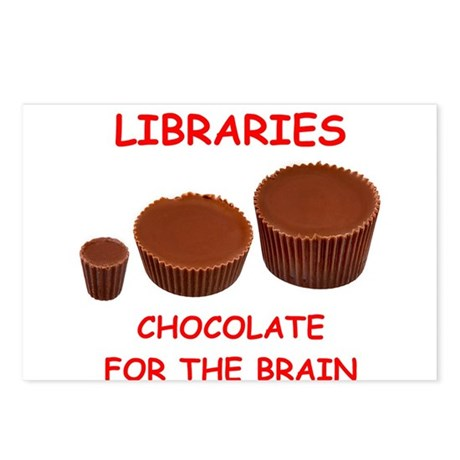 library Postcards (Package of 8)