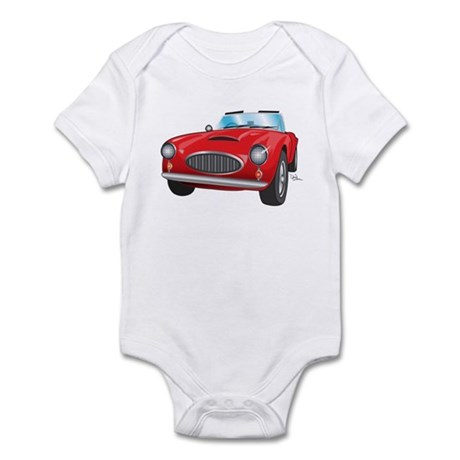 Red Convertible Infant Bodysuit