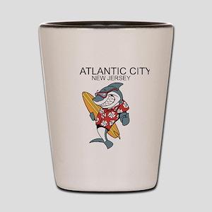 Atlantic City, New Jersey Shot Glass
