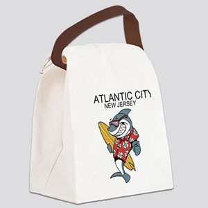 Atlantic City, New Jersey Canvas Lunch Bag