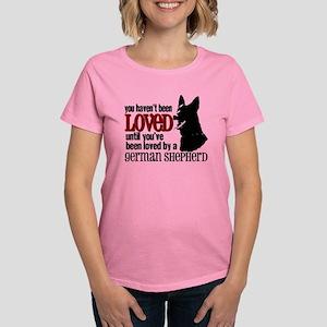 GSD Love Women's Dark T-Shirt
