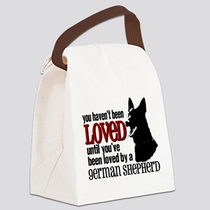 GSD Love Canvas Lunch Bag