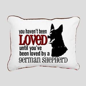 GSD Love Rectangular Canvas Pillow