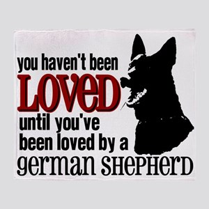 GSD Love Throw Blanket