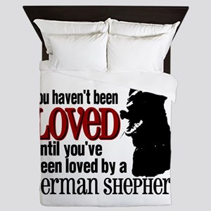 GSD Love Queen Duvet