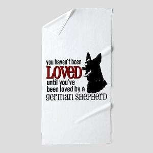 GSD Love Beach Towel