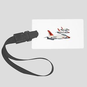 T-45 Goshawk Trainer Aircraft Large Luggage Tag