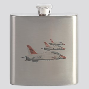 T-45 Goshawk Trainer Aircraft Flask