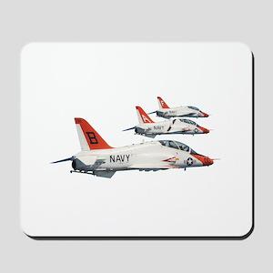 T-45 Goshawk Trainer Aircraft Mousepad
