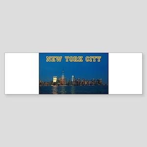 New! New York Skyline - Pro Photo Sticker (Bumper)